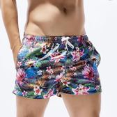 夏季潮男士沙灘褲速干運動健身短褲寬鬆大碼青年休閒短褲三分褲子 新知優品