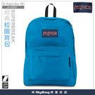 JANSPORT 後背包 43501-01F  土耳其藍   經典校園背包  MyBag得意時袋