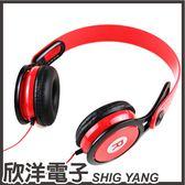 RONEVER 向聯 頭戴式耳機麥克風(MOE124) 紅白兩色