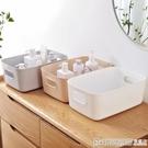 塑料收納筐廚房衛生間浴室化妝收納整理盒家用桌面雜物零食收納盒  印象家品