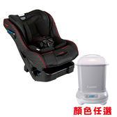 康貝 Combi News Prim Long EG 汽車安全座椅-羅馬黑贈消毒鍋[衛立兒生活館]
