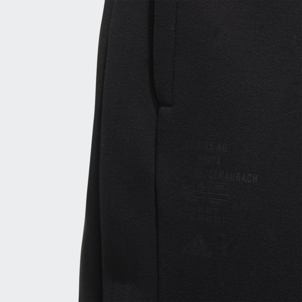 Adidas PEACH 男裝 長褲 休閒 鬆緊 拉繩 拉鍊口袋 羅紋褲口 黑【運動世界】GM4412