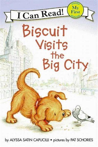 (二手書)An I Can Read Book My First Reading: Biscuit Visits the Big City..