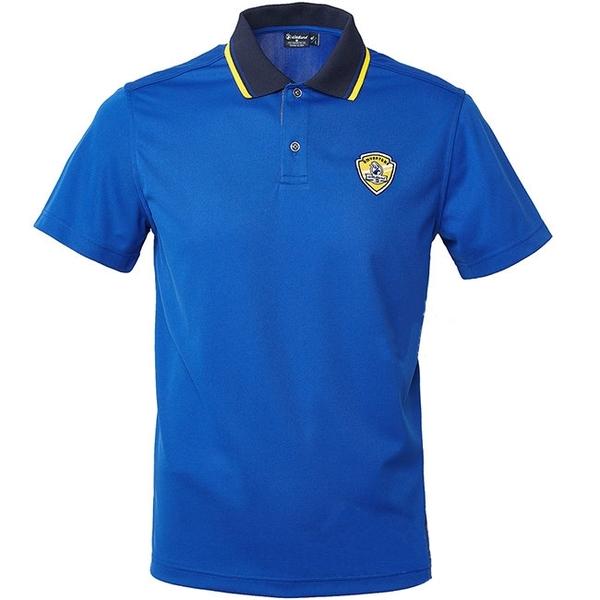 【wildland 荒野】男 COOLMAX 抗UV排汗YOKE衣-寶藍 0A61616 POLO衫 吸濕 排汗 抗紫外線