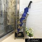 雨傘架 美歐式復古鐵藝家用大堂酒店雨傘桶創意垃圾桶收納架