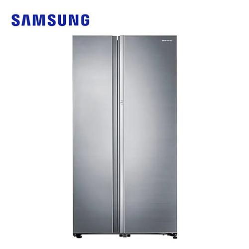 [SAMSUNG 三星]825公升 藏鮮愛現系列 對開冰箱-銀 RH80J81327F