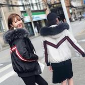 棉襖女新款冬季外套加厚棉服韓版寬鬆bf毛領短款學生羽絨棉衣