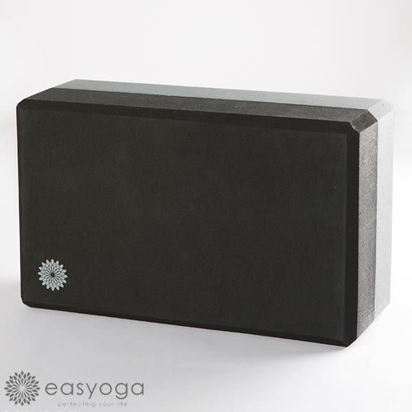 easyoga 瑜珈墊 高優質瑜珈磚 50D - 黑/鐵灰
