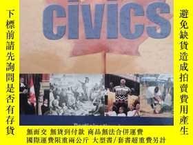 二手書博民逛書店civics罕見participating in a democratic societyY226606 Ry