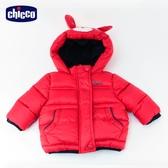 chicco-外套-動物造型連帽舖棉外套