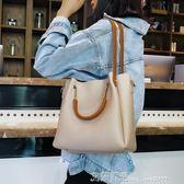 包包女托特包單肩女大包斜跨仙女包手提簡約包潮 艾莎嚴選