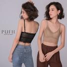 現貨◆PUFII-小可愛 蕾絲可調式肩帶小可愛(內襯可拆)-0609 夏【CP18700】