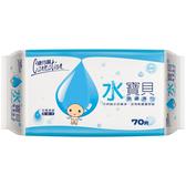 康乃馨水寶貝潔膚濕巾70片裝 【康是美】