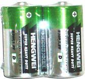 鼎極碳鋅電池1號2入