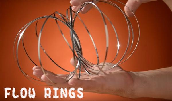 流動金屬環 FLOW RINGS 療育 表演 跳舞 街頭藝人 金屬手環 泡泡環 魔術流體環