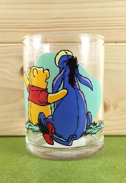 【震撼精品百貨】Winnie the Pooh 小熊維尼~玻璃杯-驢子
