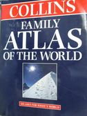 【書寶二手書T7/地理_WFS】Collins Family Atlas of World_Moira Jones