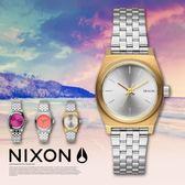 【人文行旅】NIXON | A399-2062 Small Time Teller 時尚百變女錶