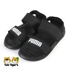 PUMA Soft Sandal PS 運動 涼鞋 中童 黑 NO.Y1712(37569501)