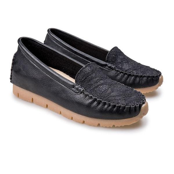 蕾絲內增高鞋