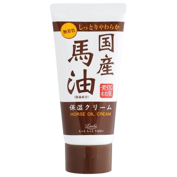 日本 loshi 馬油 保濕 護手霜 4936201101566