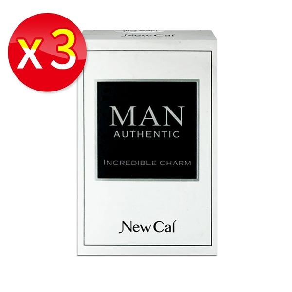 【3盒入】NEW CAL 男仕香攝護保養膠囊 30粒/盒