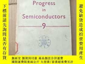 二手書博民逛書店progress罕見in semiconductors 9 (P881)Y173412