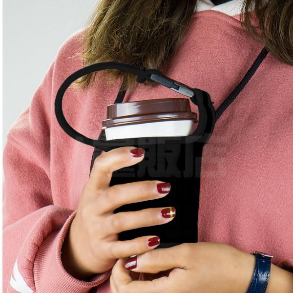 手提杯套 杯袋 咖啡杯套 環保杯套 飲料提袋 手搖杯提袋 手提袋 防燙套 奶茶 限塑 減塑 4色