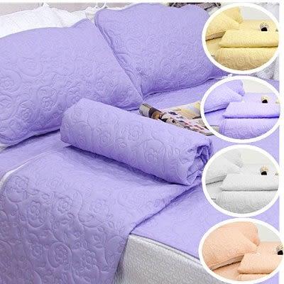保潔枕墊 - 雕花平鋪式(5色) [3層無毒 抗菌防霉 可機洗] 寢國寢城台灣製