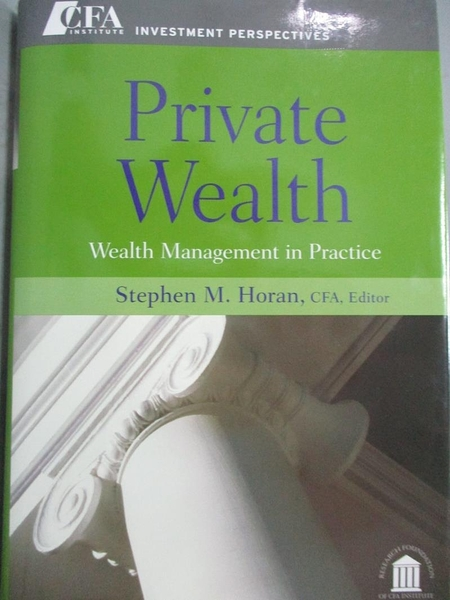 【書寶二手書T1/原文小說_XBX】Private Wealth: Wealth Management…