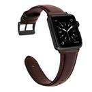 iwatch蘋果手錶錶帶適用Apple Watch牛皮腕帶【步行者戶外生活館】