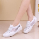 低幫帆布鞋女新小白鞋透氣夏季鏤空系帶果凍底鞋子網紗平底鞋潮鞋 快速出貨