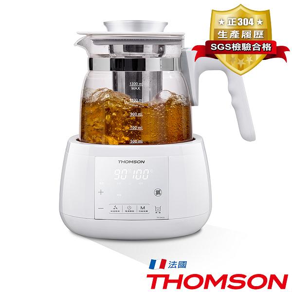 THOMSON 智能溫控玻璃養生壺 TM-SAK35【福利品】