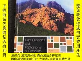 二手書博民逛書店Core罕見Principles and Applications of Corporate Finance(公司