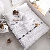 醫院衛生睡袋單人 便攜式純棉酒店賓館隔臟睡袋  台北日光