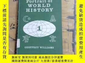 二手書博民逛書店PORTRAIT罕見OF WORLD HISTORYY25240