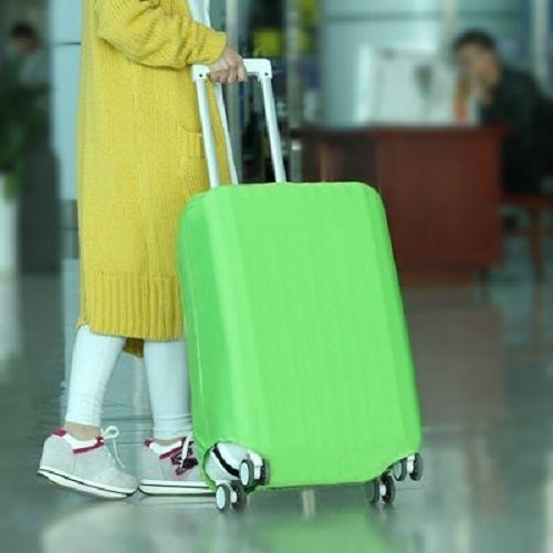 ~宜家~M號糖果色彈力行李箱保護套 (適合22~24吋) 拉桿旅行箱防塵罩 加厚耐磨