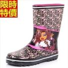 中筒雨靴雨鞋-歐美時尚酷炫骷髏頭女靴子鞋子66ak5【時尚巴黎】
