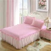 床罩/被套 韓版蕾絲床裙單件公主風床套夏季防滑床罩1.5m