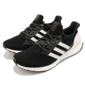 adidas 慢跑鞋 Ultra Boost 4.0 黑 白 運動鞋 頂級緩震舒適 黑白 運動鞋 男鞋 女鞋【PUMP306】 AQ0062