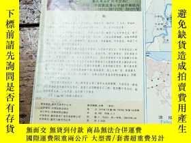 二手書博民逛書店罕見95年長江三峽旅遊圖Y11477