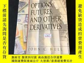 二手書博民逛書店Options,罕見futures, and other dervativesY302880 John C.
