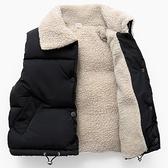 兒童馬甲 秋冬季兒童羽絨棉馬甲男童寶寶加厚嬰兒外穿背心女童羊羔坎肩洋氣 快速發貨
