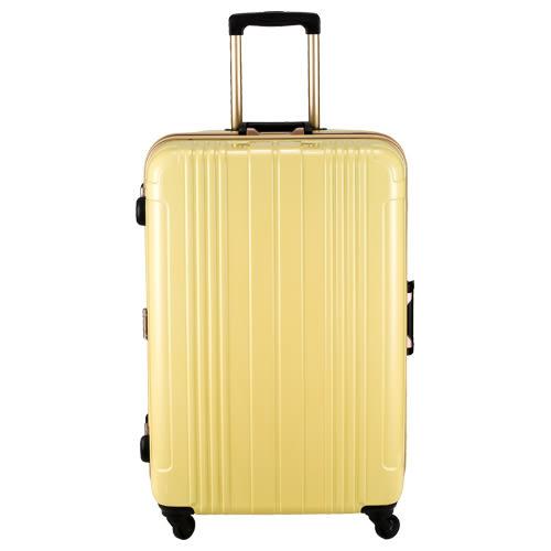 COSSACK PRACTICAL 2實質系列 極輕PC鋁框 行李箱/旅行箱29吋-黃色-