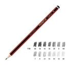 《享亮商城》MS110-6B 紅武士經典繪圖鉛筆 施德樓