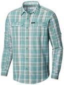 【Columbia】男UPF55快排長袖襯衫-綠