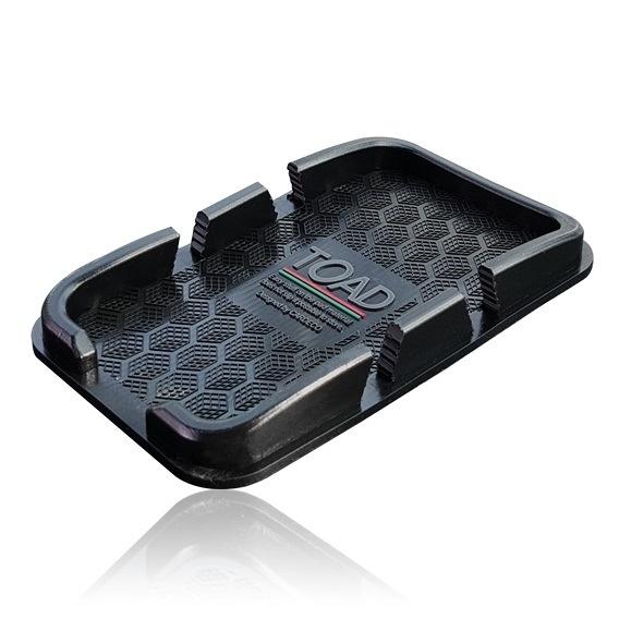 車之嚴選 cars_go 汽車用品【0039】韓國TOAD 置放式 儀表板止滑墊置放式智慧型手機通用型置物盒盤