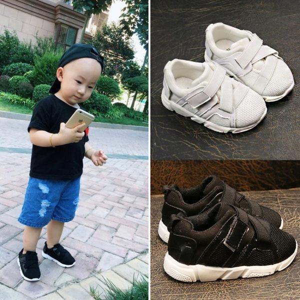 防滑寶寶鞋嬰兒學步鞋軟底網鞋男童一周歲女1運動鞋6-12個月幼兒 雲雨尚品