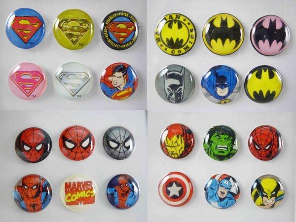 【震撼精品百貨】 Batman蝙蝠俠、Spider-Man蜘蛛人、Superman超人~iPhone、ipad 手機按鍵貼『共4款』