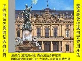 二手書博民逛書店The罕見Wurzburg Residence and Cour